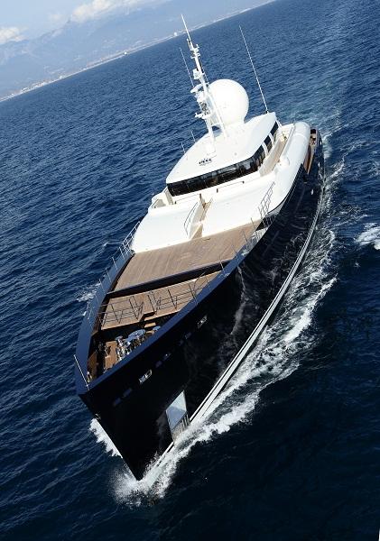 Explorer yacht Galileo G - Image Giuliano Sargentini