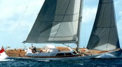 Frers designed 34m superyacht Unfurled by Royal Huisman