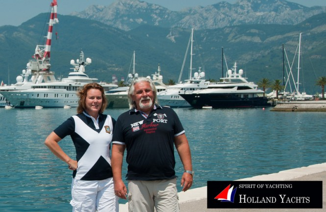 Holland Yachts - a new agent for Moonen in Russia