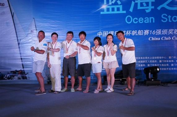 Horizon Yacht Team places sixth at the 2012 China Club Challenge Match
