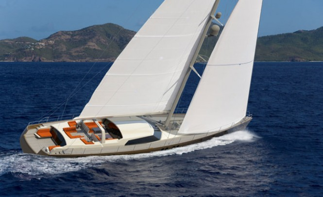 Jongert 3200P superyacht P1113 engineered by Mulder Design