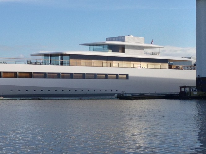 Launch of the VENUS superyacht - Photo by OneMoreThing.nl