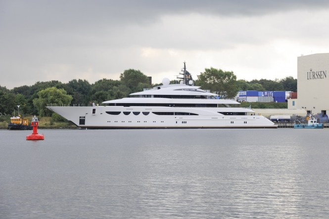 Lurssen Luxury Yacht QUATTROELLE (Project Bellissimo)