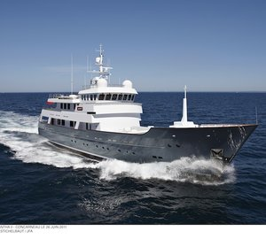 JFA Yachts AXANTHA II Yacht announced finalist in the ISS Design Awards