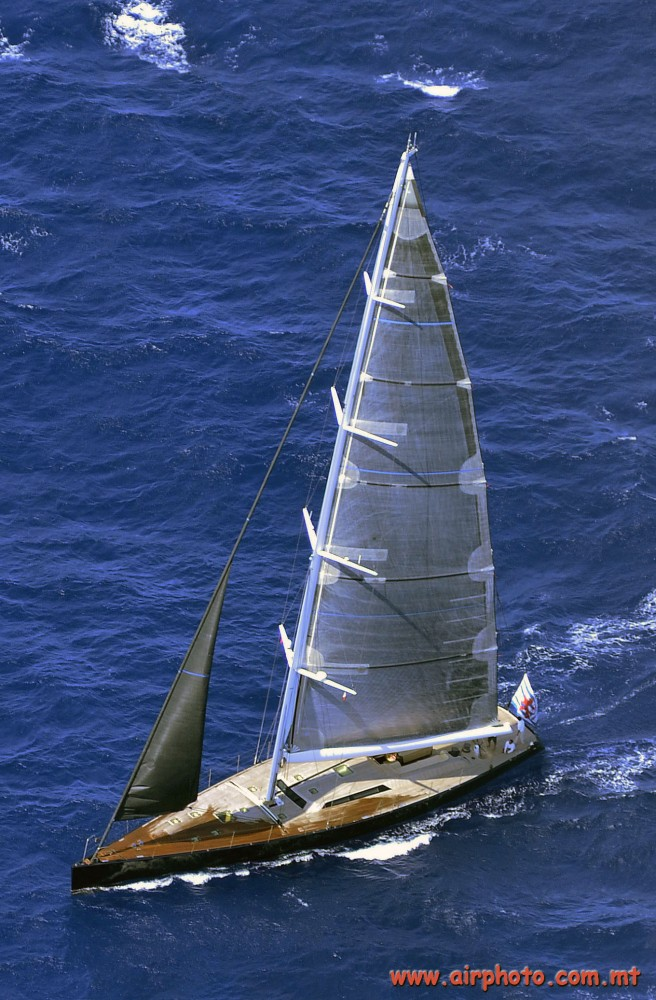 Luxury sailing yacht BARONG C - Photo by Capt. Victor G. Mercieca