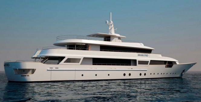 Luxury superyacht Amarcord 56 project