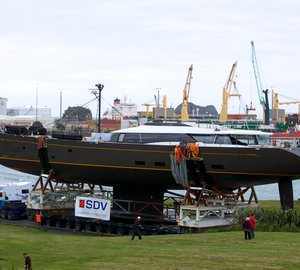 Superyacht OHANA launched by Fitzroy Yachts