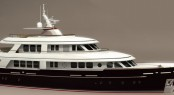 Luxury superyacht RossoMare 115 designed by Vripack