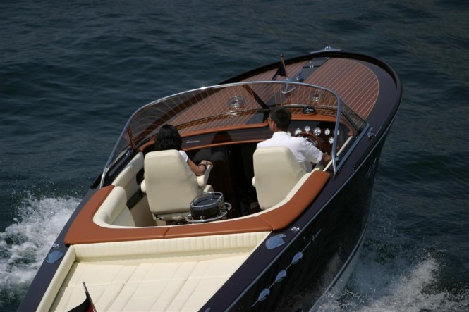 Luxury superyacht tender IPANEMA close-up