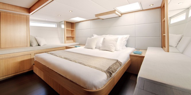 Luxury yacht Contest 72CS - Owners Cabin