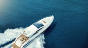 Luxury yacht Phantom 800 - view from above
