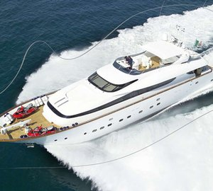 Maiora 29 superyacht EFFICIENT PROPULSION by Fipa Group fitted with Seakeeper's M21000 gyro to debut at the 2012 FLIBS