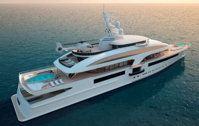 Marco Casali designed Cloud 90 yacht
