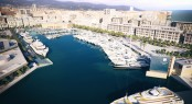 Marina Port Vell situated in a popular Spanish yacht charter destination - Barcelona
