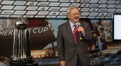Mayor Lee thanks America's Cup for showcasing San Francisco in an international setting &Acirc;&copy; ACEA/Gilles Martin-Raget