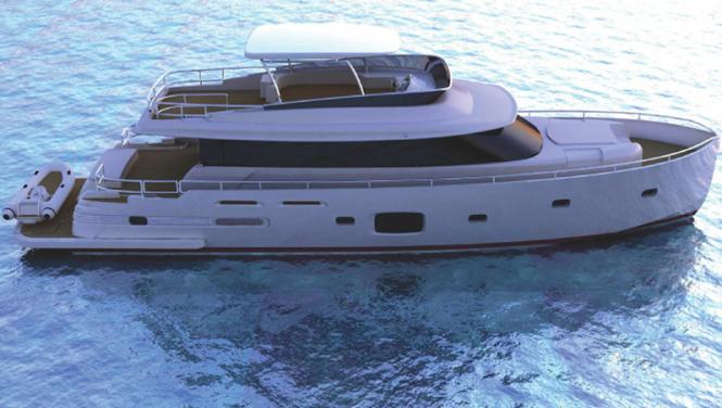 Motor Yacht Magellano 76