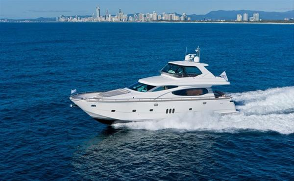 Motor yacht Horizon E70