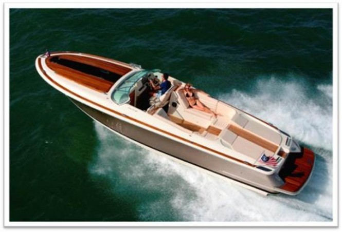 New Corsair 32 yacht tender by Chris-Craft