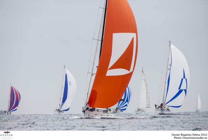 Oyster Regattas Palma 2012 - First racing