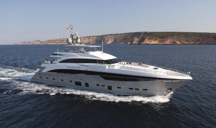 Princess 40m Motor Yacht Imperial Princess Luxury Yacht