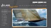 Refreshed homepage of J Class Yachts Supporters