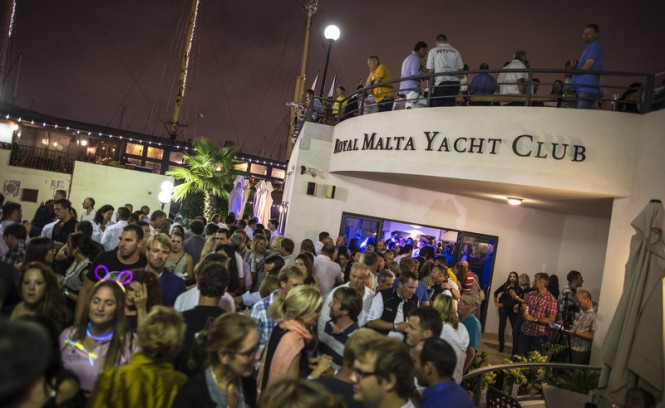 Royal Malta Yacht Club Crew Party