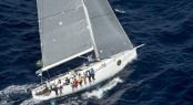 Sailing yacht HI FIDELITY overall winner of the 2012 Rolex Middle Sea Race  &acirc; Rolex Kurt Arrigo