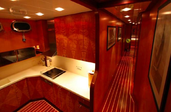 Serenity 86 yacht - Turkish gullet - Galley