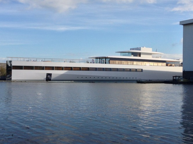 Superyacht VENUS - 78m built by Feadship - Photo Courtesy of OneMoreThing.nl
