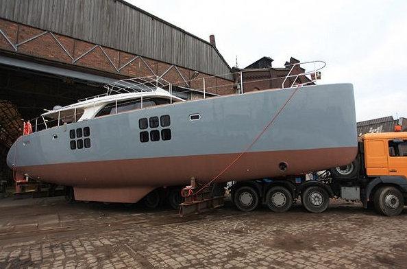 Sunreef 58 luxury yacht Carpe Diem