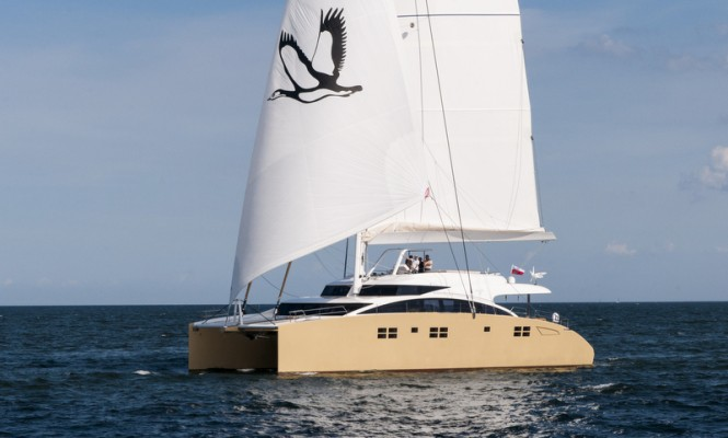 Sunreef 82 DD superyacht HOUBARA