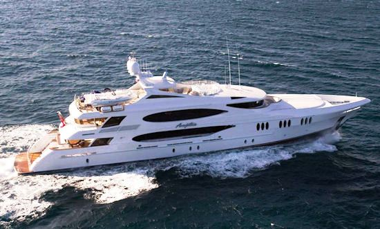 Superyacht Anjilis - Photo Credit Trinity Yachts