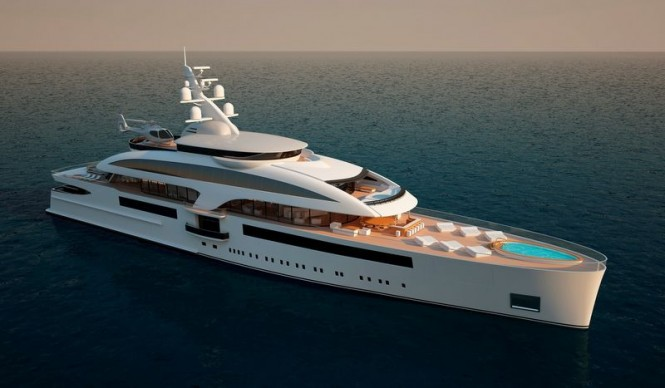 Superyacht Cloud 90 project