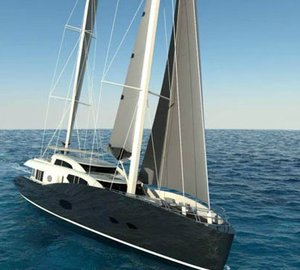 Conrad Shipyard presented the latest 35m superyacht Conrad 115 at the 2012 MYS