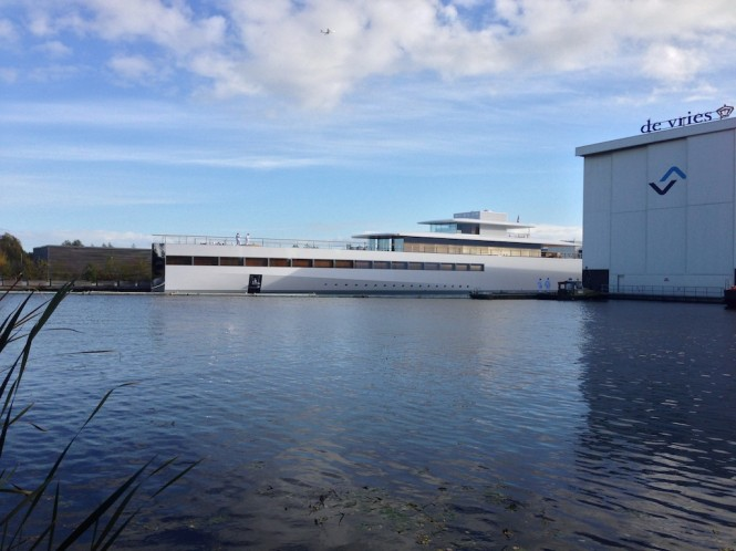 Superyacht VENUS - Photo courtesy of OneMoreThing.nl
