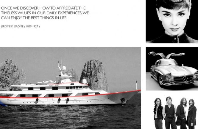 The Benetti ships of the '70s - inspiration for Marco Casali