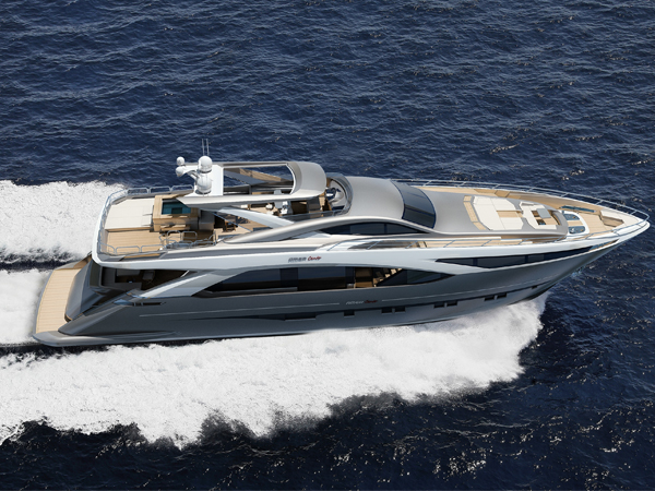 The first AmerCento superyacht by PerMare