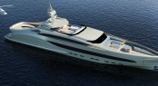 The latest 65-metre megayacht SEA BULL concept by NEDSHIP