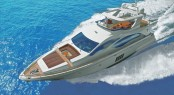 The latest superyacht Azimut 84 to be presented at the 2012 Genoa Boat Show