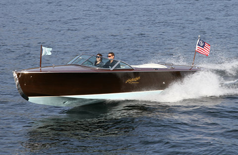 Tommy Bahama Edition Hacker-Craft yacht tender