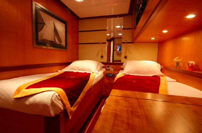 Turkish gullet Serenity 86 - Twin cabin