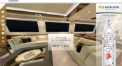 Virtual tour for Horizon P105 superyacht