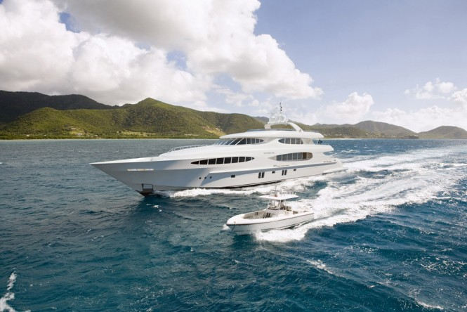 Vulcan 46 superyacht Caprice V built by Vicem Yachts and designed by Mulder Design