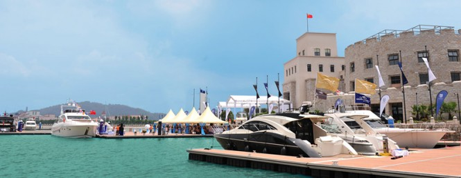 Yacht CN 2012 - Nansha Bay International Boat Show, October 12 - 14