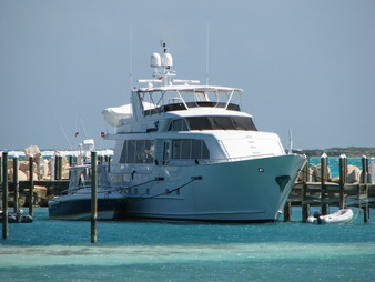 30m Broward motor yacht Escape