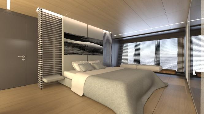 39m SCARO Design Explorer yacht concept - Master Stateroom
