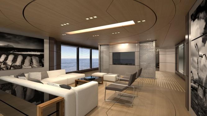 39m SCARO Design Explorer superyacht - Saloon