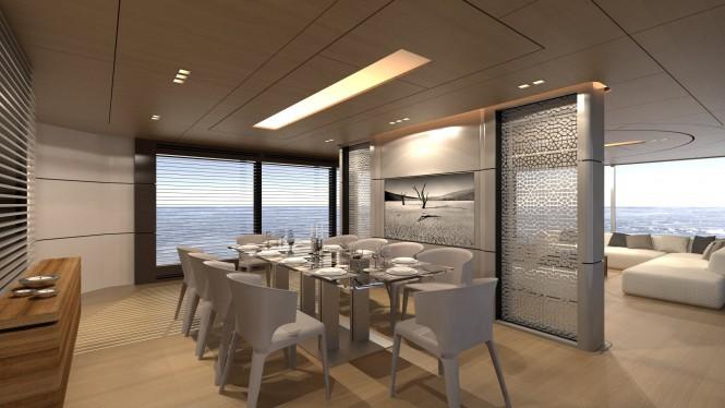 39m SCARO Design Explorer yacht - Dining