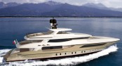 46m Baglietto displacement yacht project designed by Francesco Paszkowski