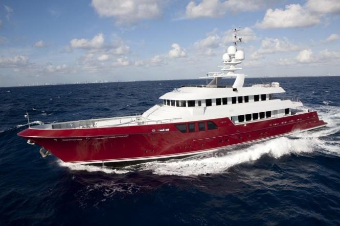 46m Cheoy Lee motor yacht Mazu